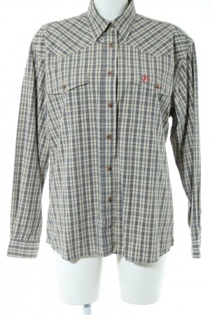 Fjällräven Lumberjack Shirt pale yellow-grey check pattern casual look