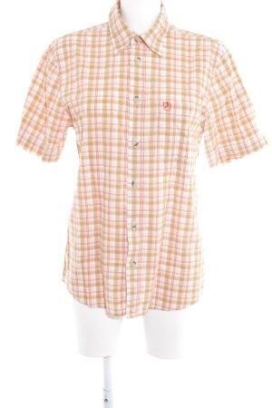Fjällräven Shirt met korte mouwen glencheck patroon zakelijke stijl