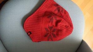 Fjällräven Mütze rot