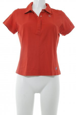 Fjällräven Polo-Shirt hellrot Casual-Look