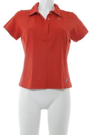 Fjällräven Polo-Shirt hellrot Casual-Look