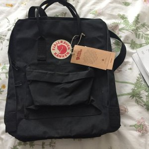Fjallraven Backpack Trolley black