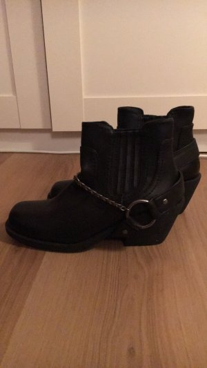 H&M Divided Botas de tobillo negro