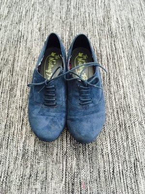 Flache blaue Schuhe Gr. 39
