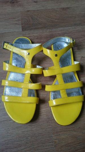 Flip*flop Sandalo romano giallo Pelle