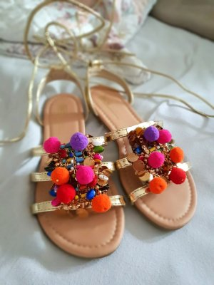 Asos Strapped Sandals multicolored