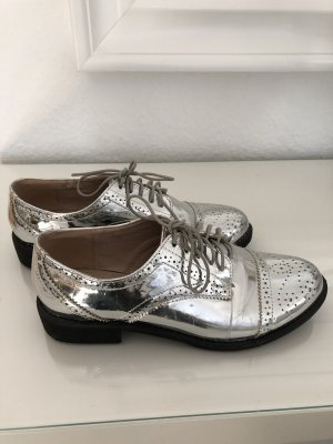 Asos Sailing Shoes silver-colored