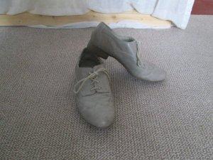 flache Schuhe mit Lederimitat
