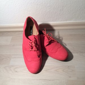Flache Schuhe rot Größe 40