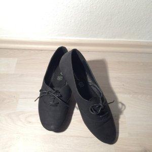 Flache Schuhe schwarz Größe 40