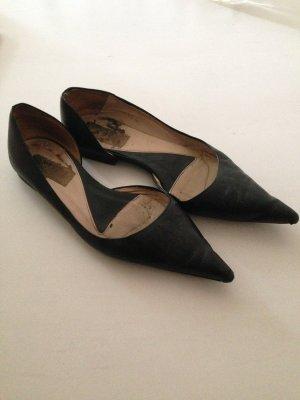 Flache, spitze Schuhe! Trend!