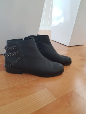 Belmondo Ankle Boots black-anthracite leather