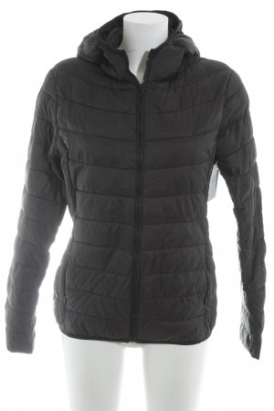 Flam Mode Paris Steppjacke schwarz Steppmuster Casual-Look