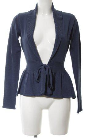 Flame Cardigan blau Casual-Look