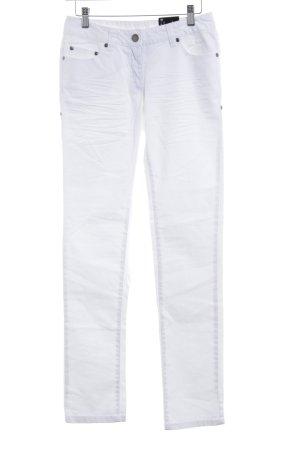 Flame Slim Jeans wollweiß Casual-Look