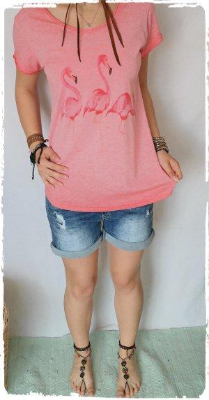 Flamingo Shirt Ibiza passt S bis L