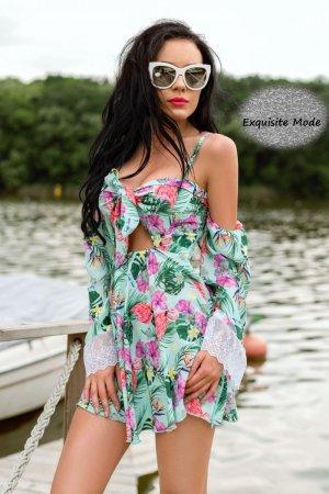 Flamingo Sommerkleid DA3129