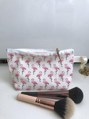Flamingo Tasche Pink Rosa Sommer Kosmetiktasche Mäppchen Neu