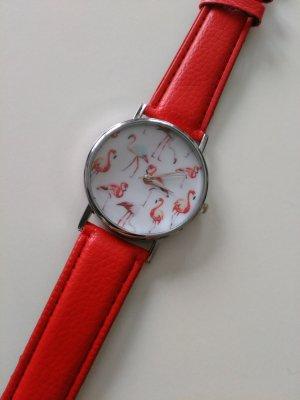 Flamingo Uhr Modeuhr