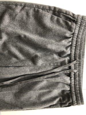 Flanell Hose, Bundfaltenhose grau, H&M, gr 38