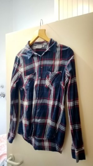 Blue Motion Flannel Shirt multicolored