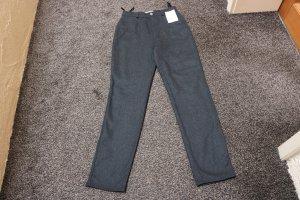 Apart Pantalon taille haute gris anthracite tissu mixte