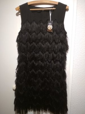 Esmara by Heidi Klum Jurk met franjes zwart Polyester