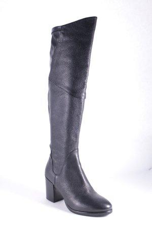 Flare Brugg Laarzen met hak zwart straat-mode uitstraling