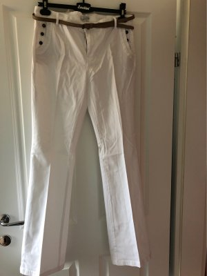 edc Denim Flares white
