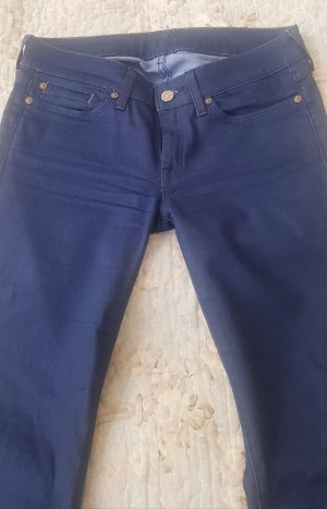 7 For All Mankind Jeans flare bleu acier