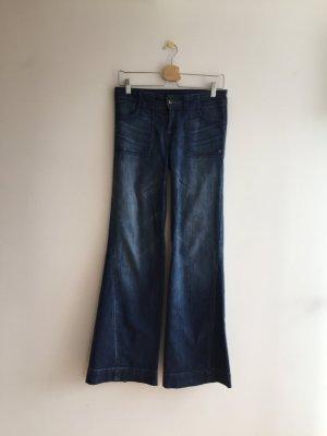 Genetic denim Marlene jeans blauw Katoen