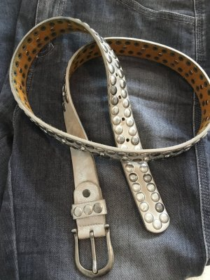 Young Spirit Studded Belt silver-colored-light grey