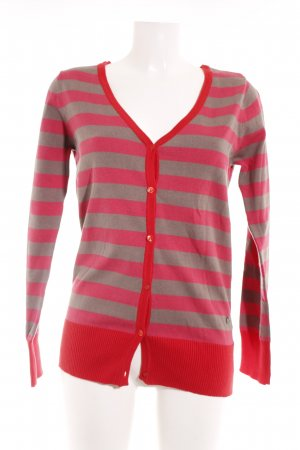 FlashLights Cardigan Streifenmuster Casual-Look