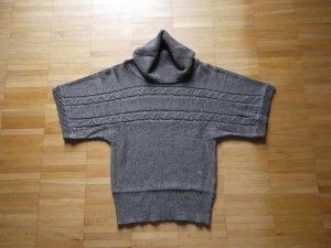 FlashLights Kurzarm Rolli Pullover Pullunder Grau Gr. 32/34 wie NEU