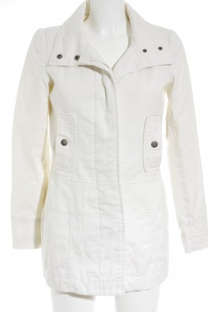 FlashLights Lange Jacke creme Casual-Look