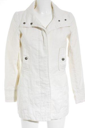 FlashLights Long Jacket cream casual look