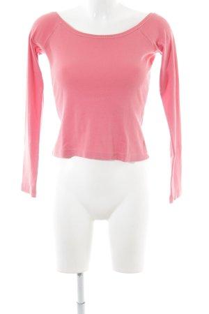 FlashLights Longsleeve pink schlichter Stil