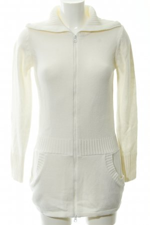 FlashLights Strickjacke creme Webmuster Casual-Look
