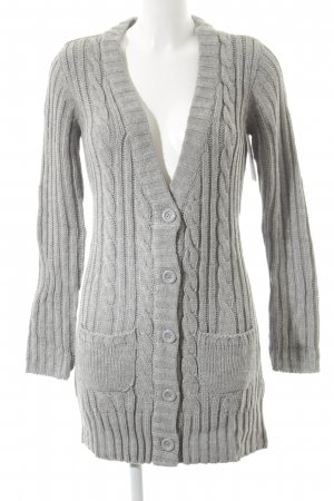 FlashLights Strickjacke grau Casual-Look