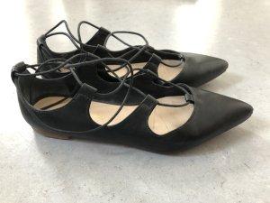 Flat Lace-up Ballerinas von Loeffler Randall