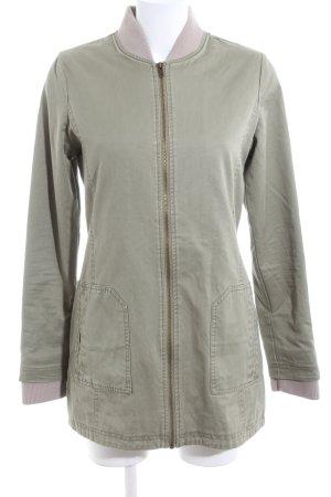 Flatbush Short Coat khaki casual look