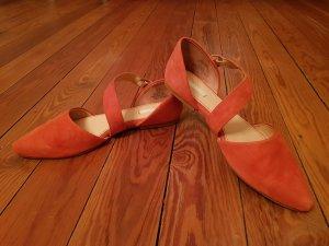 Flats/ Ballerinas, Lederschuhe