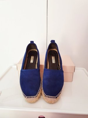 Balenciaga Espadrille Sandals blue suede