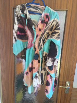 Blumarine Slip-over Blouse multicolored silk