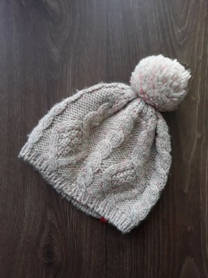 Esprit Knitted Hat dusky pink-natural white