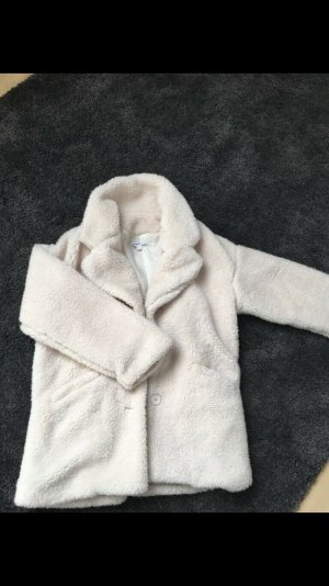 Subdued Fur Jacket natural white