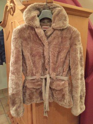 flauschige Jacke, Größe L