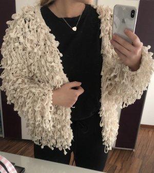 Flauschige Jacke von Zara