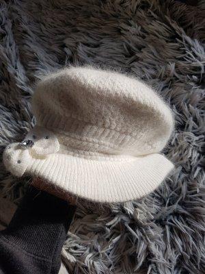 Gorra color plata-blanco puro