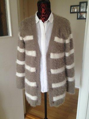 Flauschige Strickjacke Cardigan (Boho Blogger Style)
